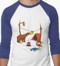 Bear and Bird Men's Baseball ¾ T-Shirt