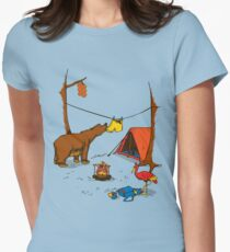 Bear and Bird Womens Fitted T-Shirt