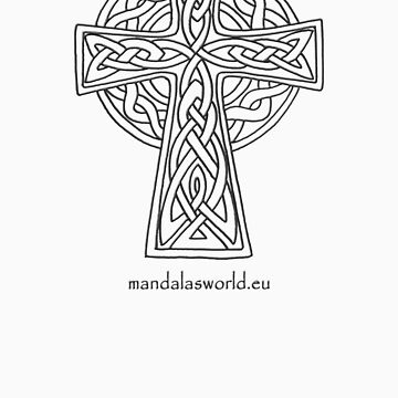 Celtic Cross n5 Dark by Phylosoft