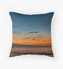 Mentone Beach Throw Pillow