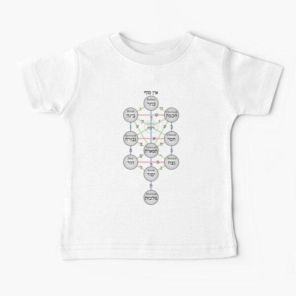 Kabbalistic Tree of Life (Sephiroth)  Baby T-Shirt