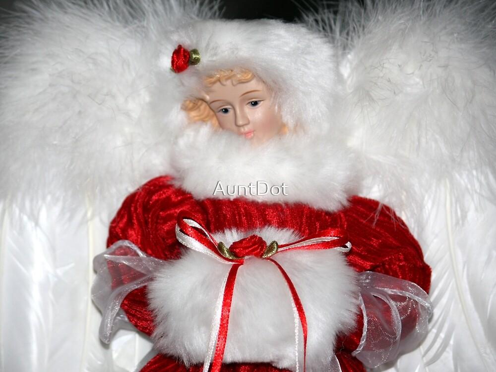 Angel in Red Velvet by AuntDot