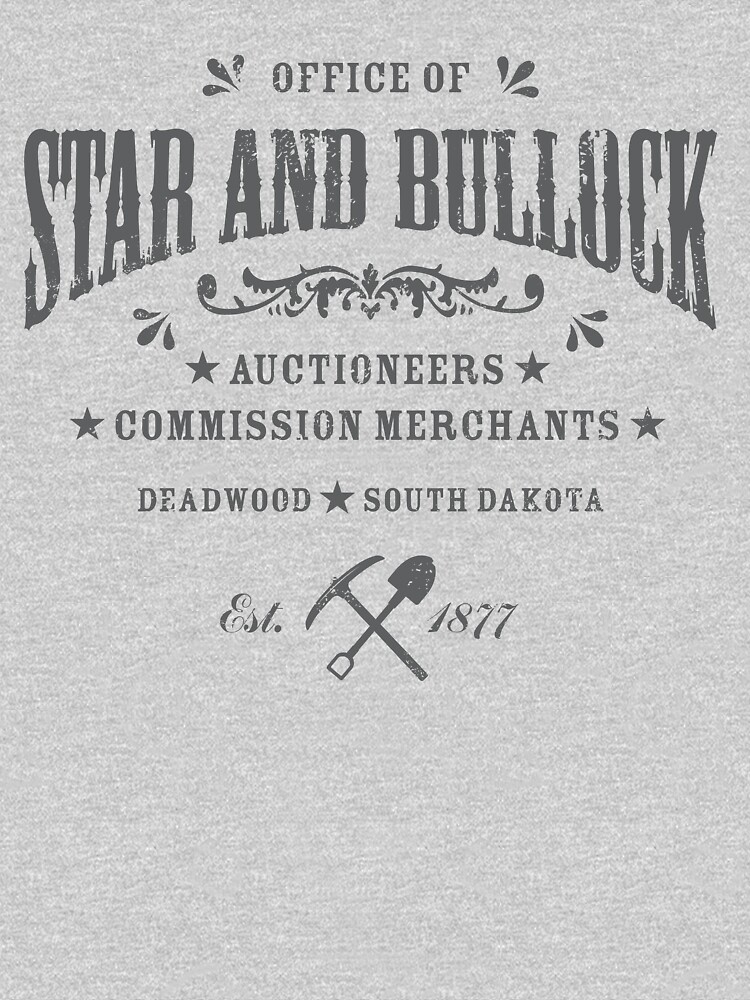 Office of Star and Bullock, Deadwood | Unisex T-Shirt