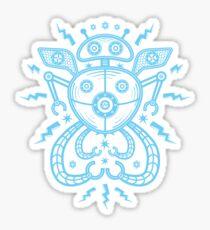 Star Catcher 2000 (Blue) Sticker