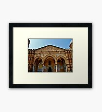 Entrance of the Cathedral Framed Print