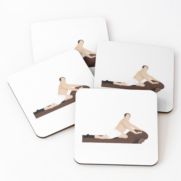 The Timeless Art of Seduction Coasters (Set of 4)
