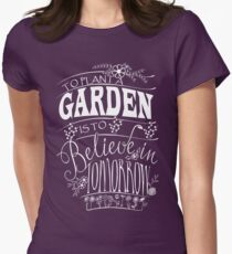 AWESOME GARDENING T SHIRT Women's Fitted T-Shirt