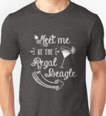 Three's Company TV Show - Meet Me at the Regal Beagle Unisex T-Shirt
