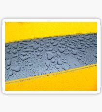 HDR Raindrops Sticker