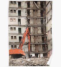 building demolition Poster