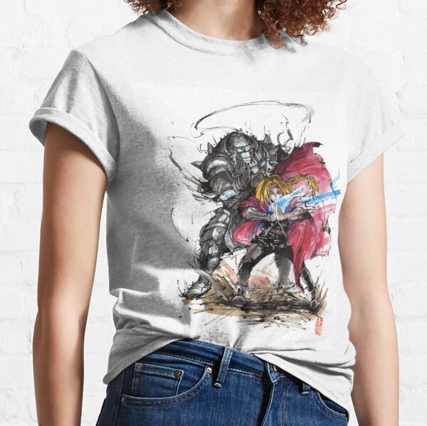 Tribute to Elric Brothers from Fullmetal Alchemist Classic T-Shirt