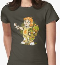 A Little Reporter Womens Fitted T-Shirt