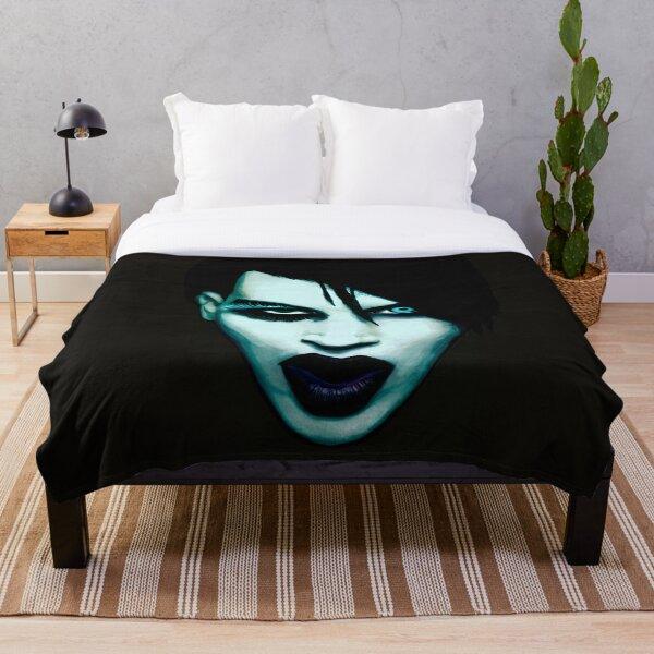Marilyn Manson Throw Blanket