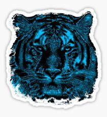 Tiger Face Close Up Sticker