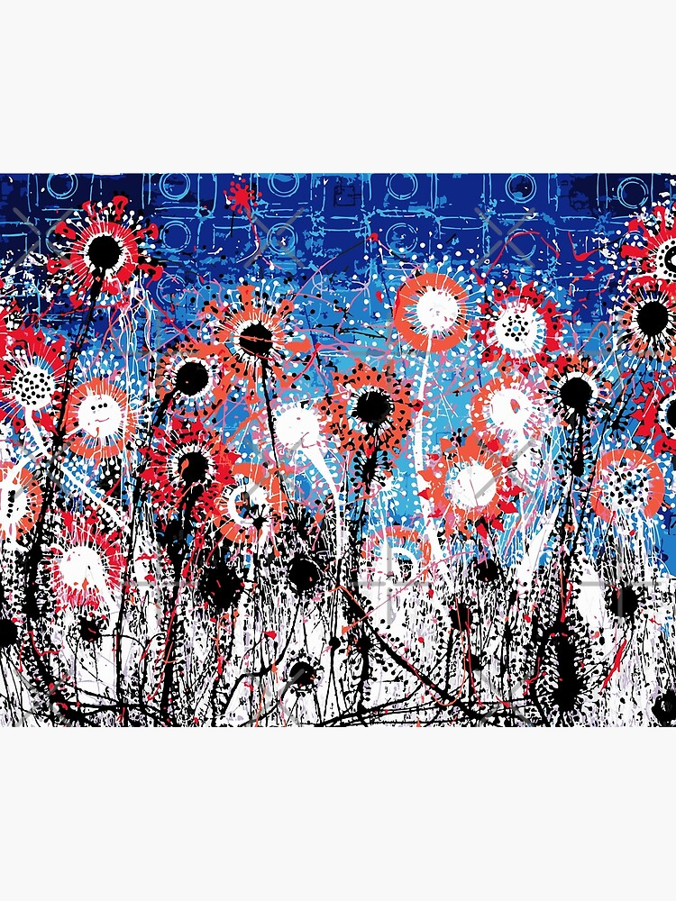 Explosive Flower Fields by mijumi