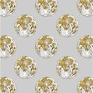 Golden Moon Pattern by Arell