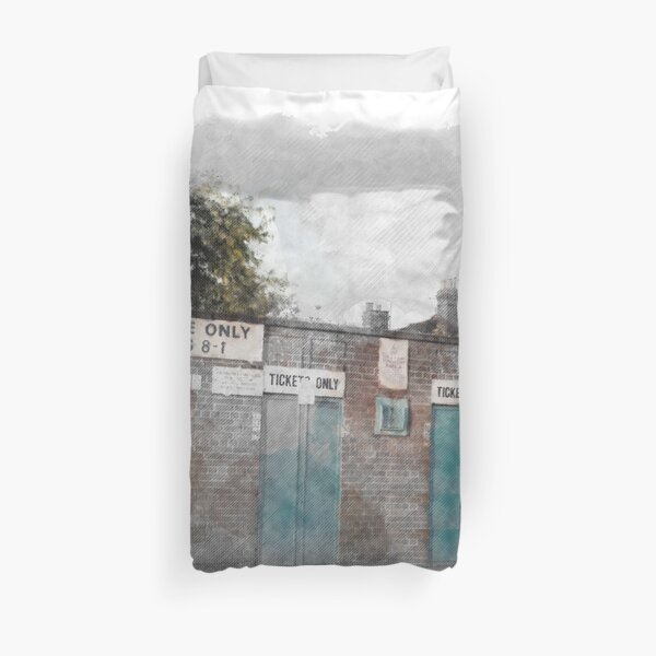 Take Me Home...West Terrace. Duvet Cover