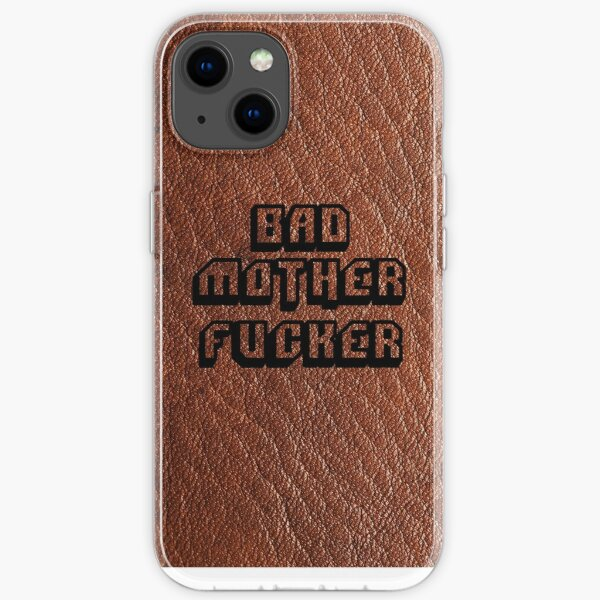 Bad Motherfucker Leather - Pulp Fiction iPhone Soft Case