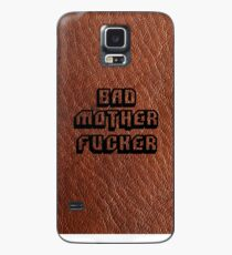 Bad Motherfucker Leather - Pulp Fiction Hülle & Klebefolie für Samsung Galaxy
