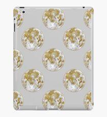 Golden Moon Pattern iPad Case/Skin