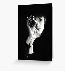 Selfportrait 1984 Greeting Card