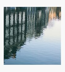 Reflected in Blue Photographic Print