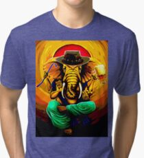 Ganesh On Break Tri-blend T-Shirt