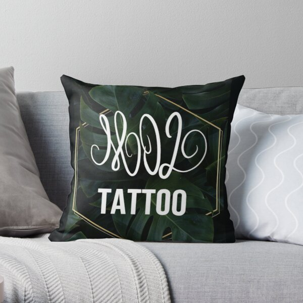 Mo2 Throw Pillow