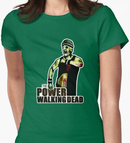 The Power Walking Dead (on Green) [ iPad / iPhone / iPod Case | Tshirt | Print ] T-Shirt