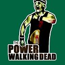 The Power Walking Dead (on Green) [iPad / Phone cases / Prints / Clothing / Decor] by Didi Bingham