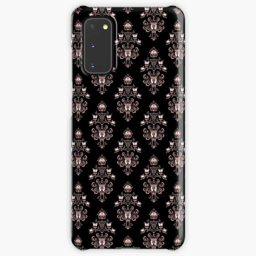 Haunted Mansion Wallpaper Old Rose Case Skin For Samsung Galaxy By Fandomtrading Redbubble