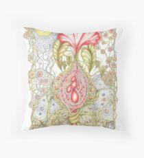 Florabundance Throw Pillow