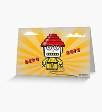 Devo Bots 001 Greeting Card