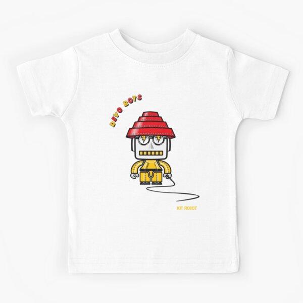 Devo Bots 001 Kids T-Shirt