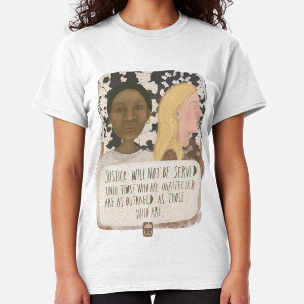 Justice - Illustration by Jennifer Geldard Classic T-Shirt