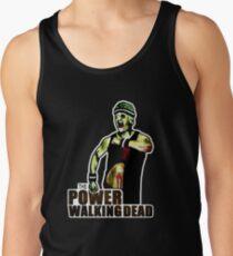 The Power Walking Dead (on Black) [iPad / Phone cases / Prints / Clothing / Decor] Tank Top
