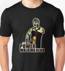 The Power Walking Dead (on Black) [iPad / Phone cases / Prints / Clothing / Decor] Unisex T-Shirt