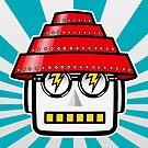 Devo Bots 004 by REMOGRAPHY Remo Camerota