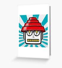 Devo Bots 004 Greeting Card