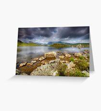Rannoch Moor  Scotland Greeting Card