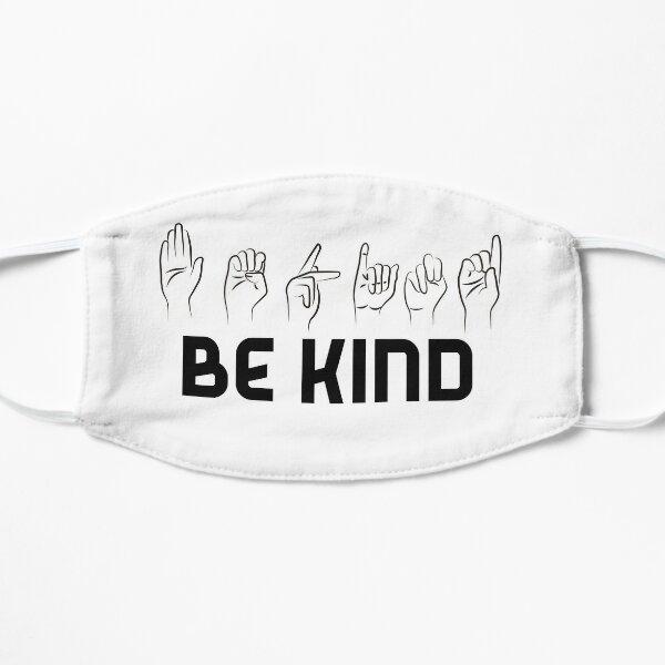 Be Kind Sign Language Mask