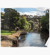 River Nidd at Knaresborough Poster