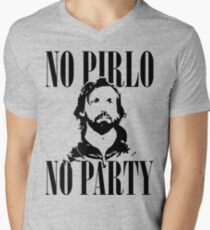 No Pirlo, No Party v2 Men's V-Neck T-Shirt
