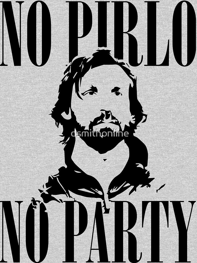 No Pirlo, No Party v2 | Unisex T-Shirt