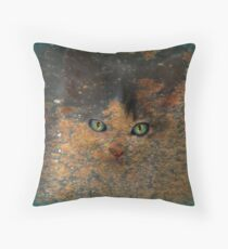 The Witches Accomplice Throw Pillow