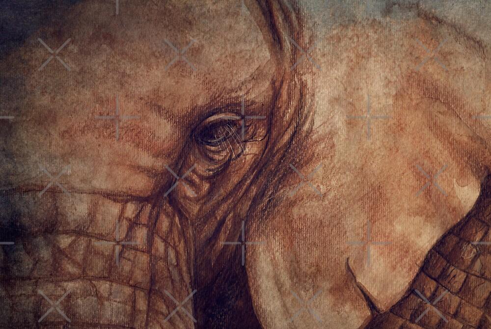 «Up Close and Personal» de Sarah  Mac Illustration