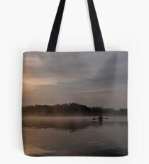 Morning Kayaker Tote Bag