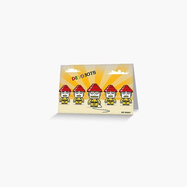 Devo Bots 005 Greeting Card
