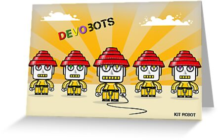Devo Bots 005 by REMOGRAPHY Remo Camerota
