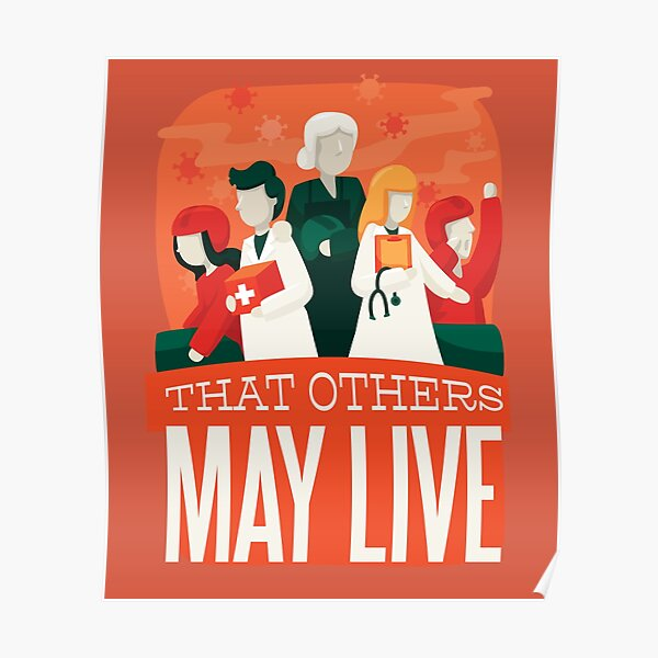 THAT OTHERS MAY LIVE Poster